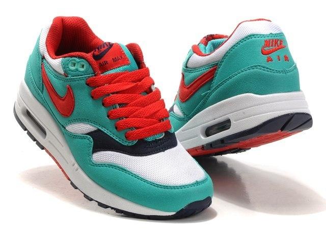 f3bf930c Купить Кроссовки Nike air max 87 зеленый/красный арт.097 | Купить ...