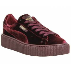 Кроссовки Puma by Rihanna CREEPER velvet арт.075